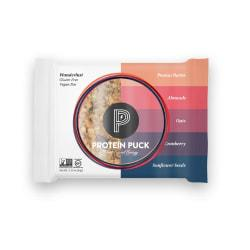 Protein Puck(TM) Peanut Butter/Almond/Cranberry Protein Bars, 3.25 Oz, Box Of 16