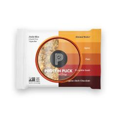 Protein Puck Almond Butter Dark Chocolate Protein Bars, 3.25 Oz., Box of 16
