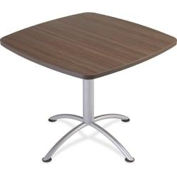 Iceberg iLand 29in.H Square Hospitality Table - Square Top - 36in. Table Top Length x 36in. Table Top Width x 1.13in. Table Top Thickness - 29in. Height - Assem