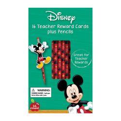 Disney Mickey(R) Pencil Rewards With Toppers, 16 Rewards Per Pack, Bundle Of 6 Packs