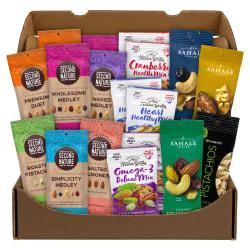 Snack Box Pros Healthy 18-Pack Mixed Nuts Snack Box