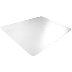 Desktex Anti-Static Desk Pad - 24in. Width x 19in. Depth - Polyvinyl Chloride (PVC) - Clear