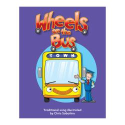 Teacher Created Materials Big Book, Wheels On The Bus, Pre-K - Grade 1