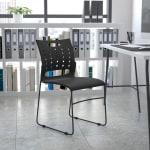 Flash Furniture Sled Base Stacking Chair