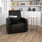 Flash Furniture Leather Guest Chair With