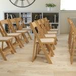 Flash Furniture HERCULES Wood Folding Chair