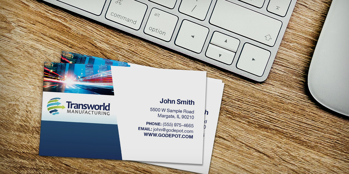 a Great First Impression with Business Cards