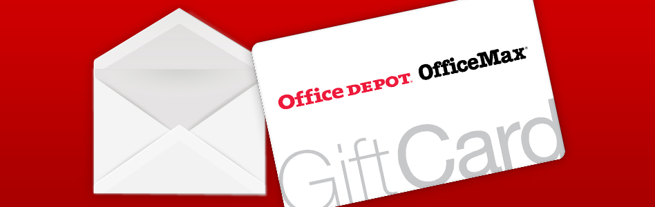 Browse Gift Cards Available - Office Depot & OfficeMax