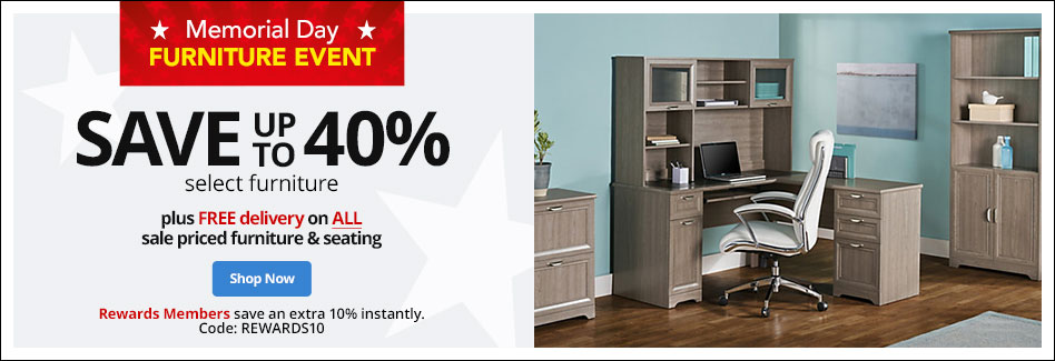 Save up to 40% Select Furniture Free Delivery