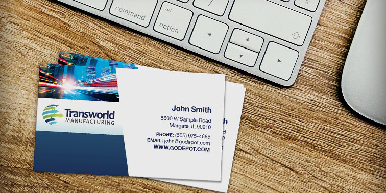 Self service printing 1817756x318busscard make a great first impression with business cards reheart Image collections