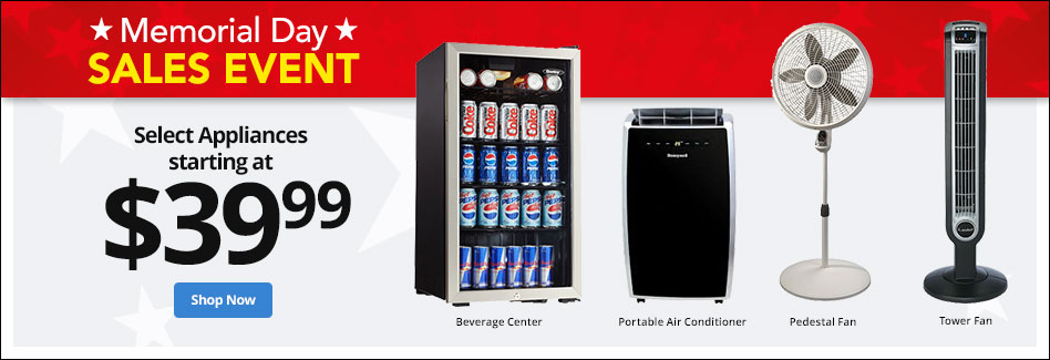 Memorial Day Sales Event - Select Appliances
