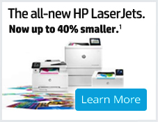 HP All New LaserJets Banner 227x162