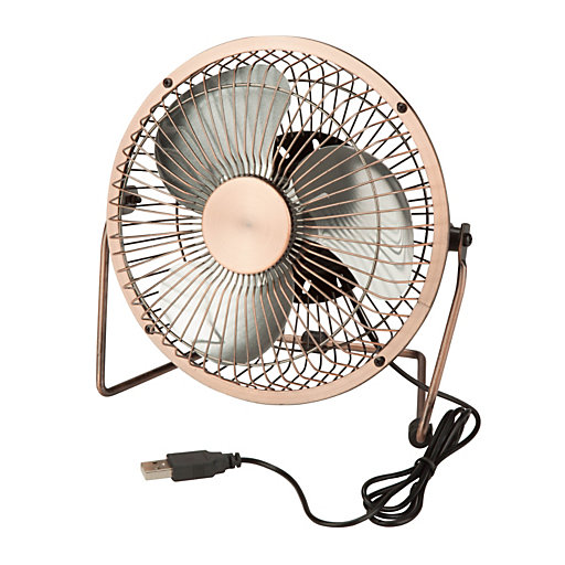 156234 - Honey-Can-Do USB-Powered Desk Fan
