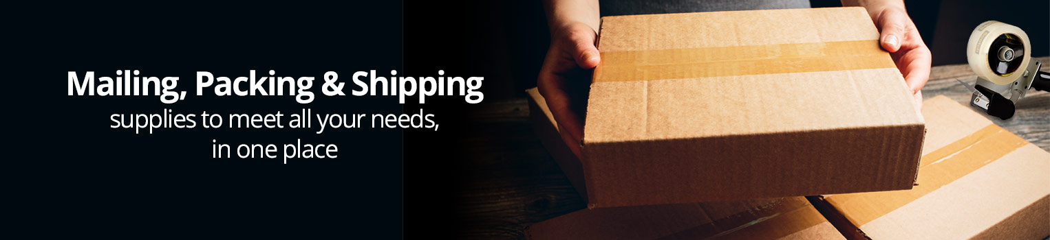 Mailing, Packing & Shipping Supplies to meet all your needs, in one place