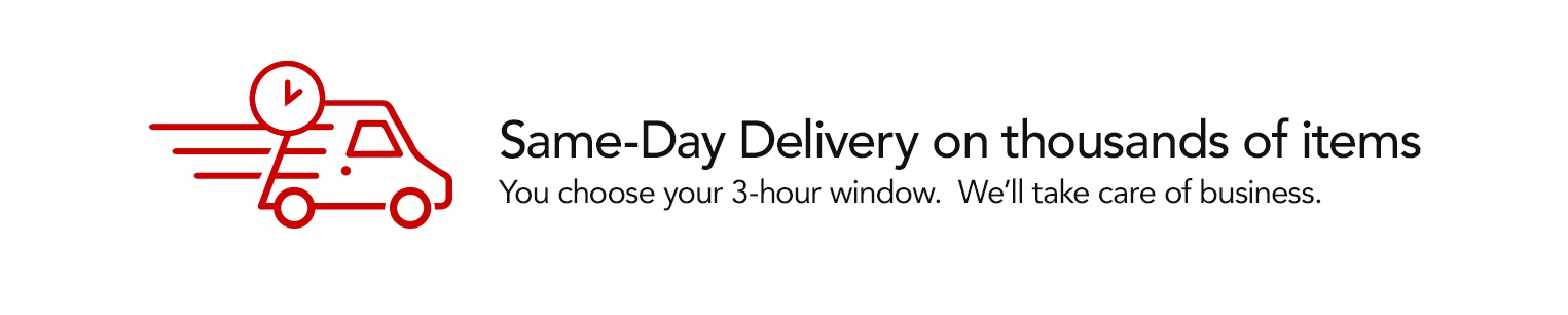 Same Day Delivery on thousands of items