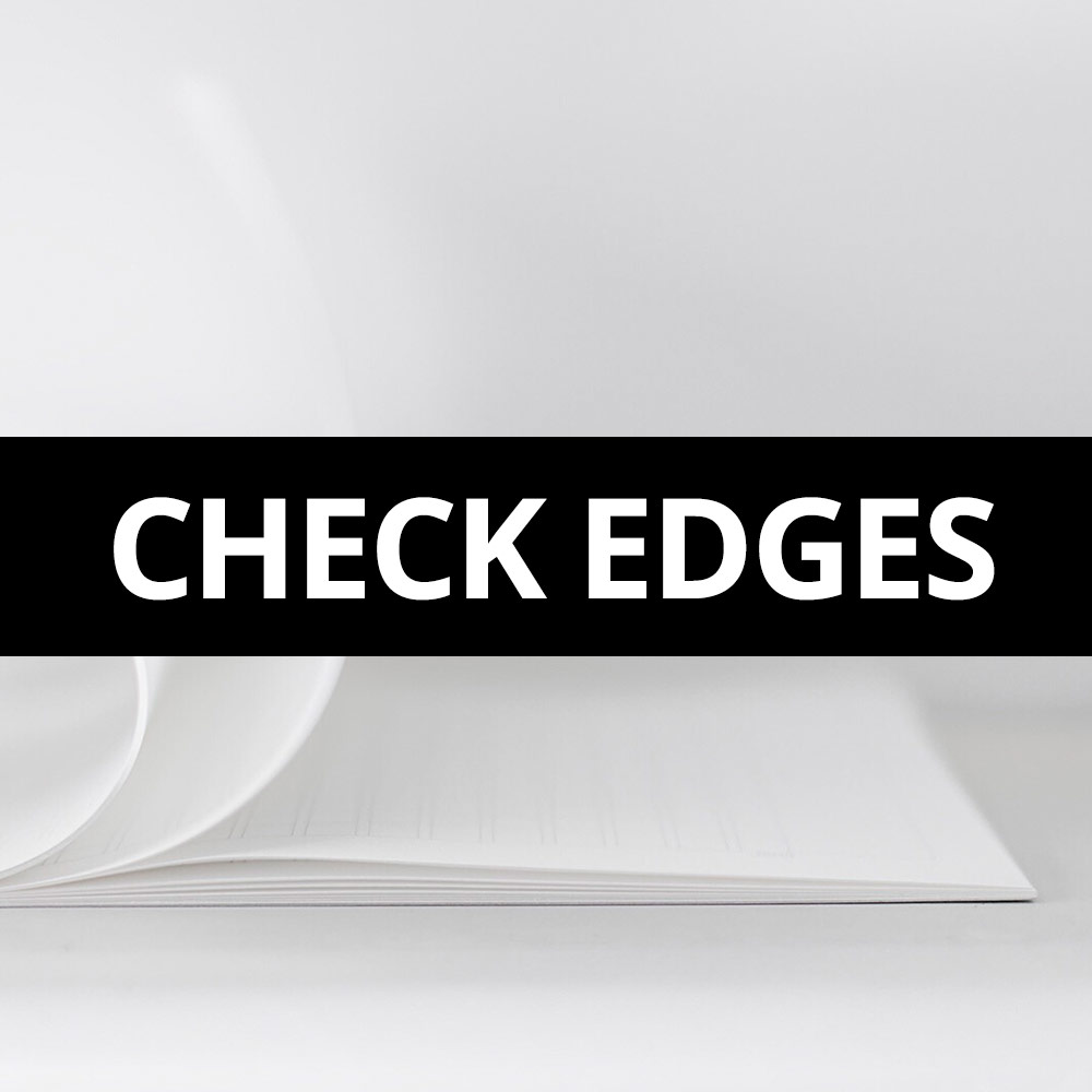 Paper Tip - Check Edges