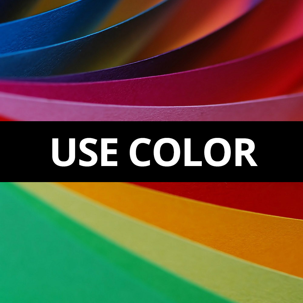 Paper Tip - Use Color