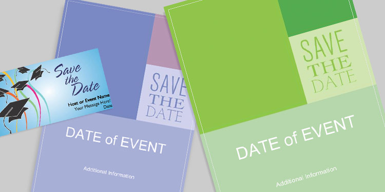 Save-the-date Invitations