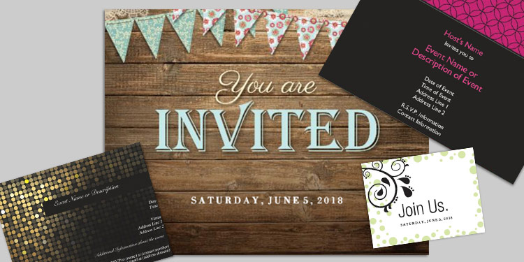 invitations announcements at office depot officemax