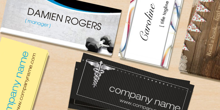 Business cards high quality cards office depot officemax mini business cards reheart Gallery