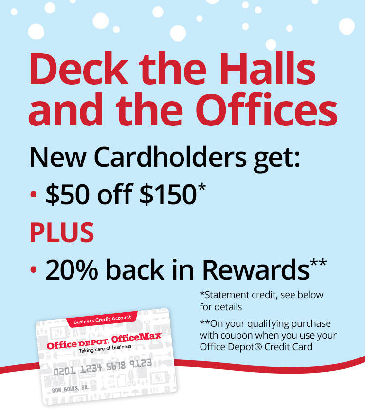 New Cardholders get $50 off $150 plus 20% back in rewards