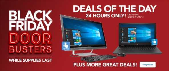 Deals of the Day - 24 Hours Only Sunday