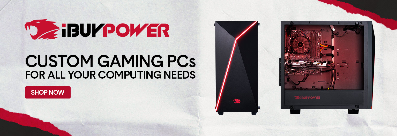 iBuyPower Custom Gaming PCs