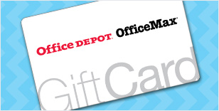 Office Depot Gift Cards- The perfect Gift