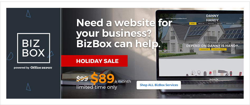 Need a Website for Your Business? Biz Box Can Help.