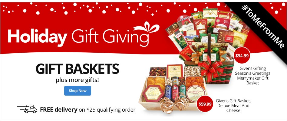 Holiday Gift Giving- Gift Baskets