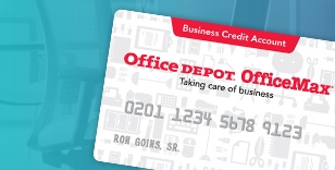 Office Depot Business Credit Cards