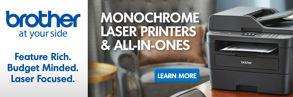 Learn More About Brother Monochrome Lasers