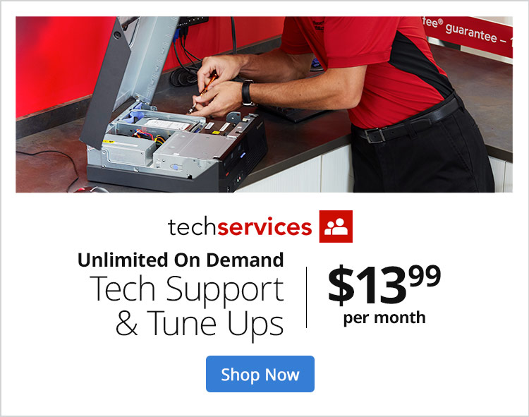 Unlimited On Demand Tech Support & Tune Ups