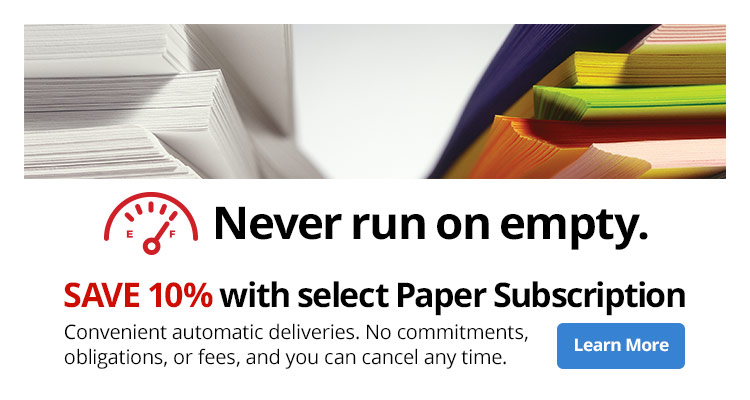 Save 10% with select Paper Subscription