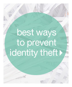Best Way to Prevent Identity Theft