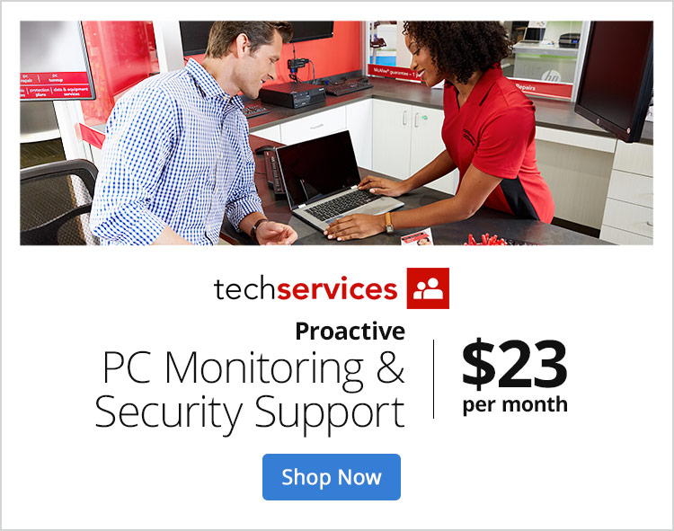 Proactive PC Monitoring & Security Support