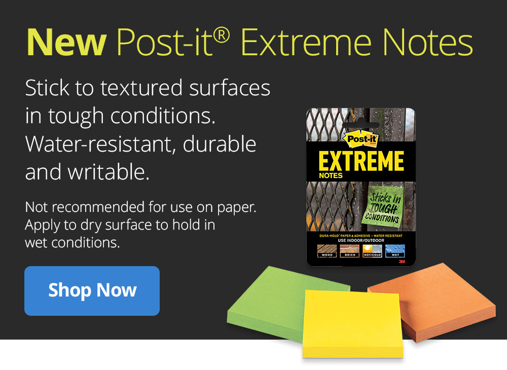 Shop New Post-it Extreme Notes