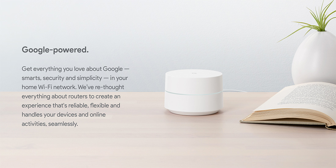 Google WiFi Google-Powered