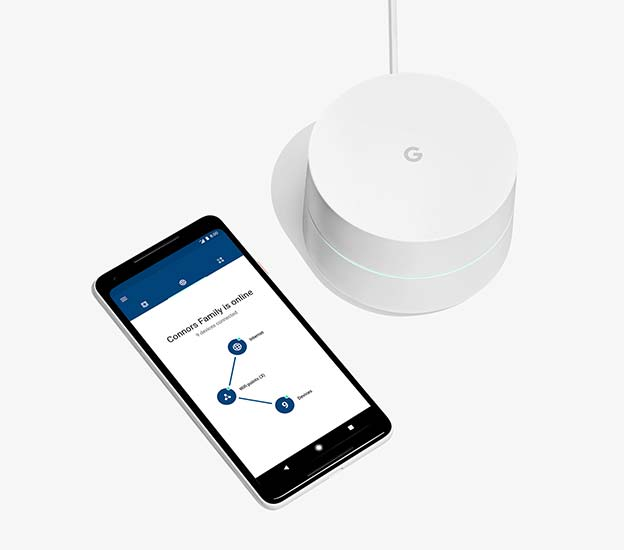 Google WiFi Simple Controls