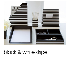Black and White Stripe Collection