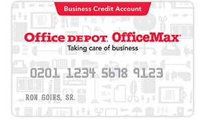 Business Credit Account Card
