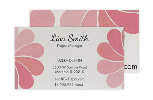 Business cards high quality cards office depot officemax luxury business cards reheart Image collections