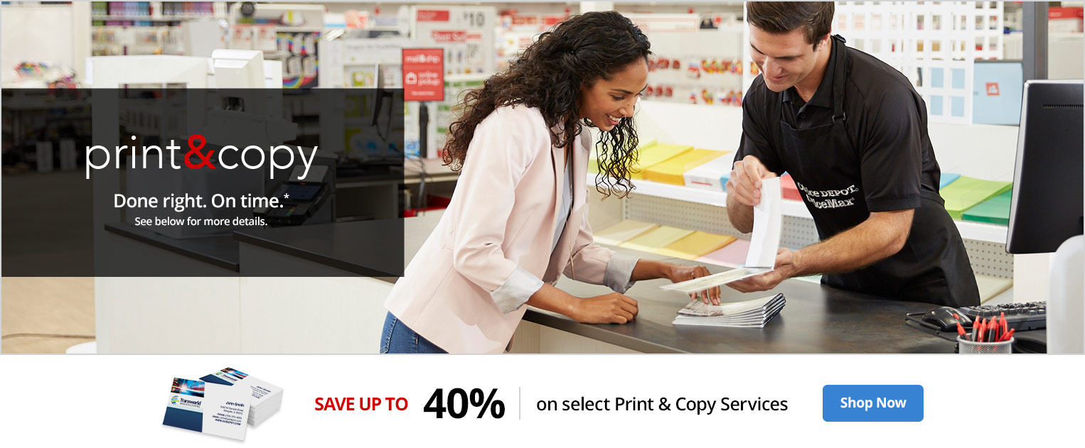 Printing Services | Office Depot OfficeMax