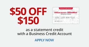 $50 Off $150 as a statement credit with a Business Account