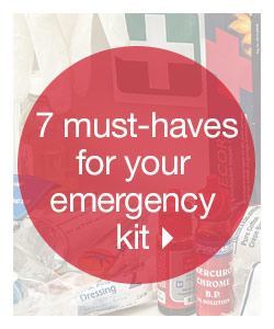 7 Must-Have For Your Emergency Kit