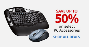 Save Up To 50% On Select PC Accessories