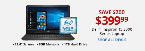 Dell™ Inspiron 15 3000 Series Laptop