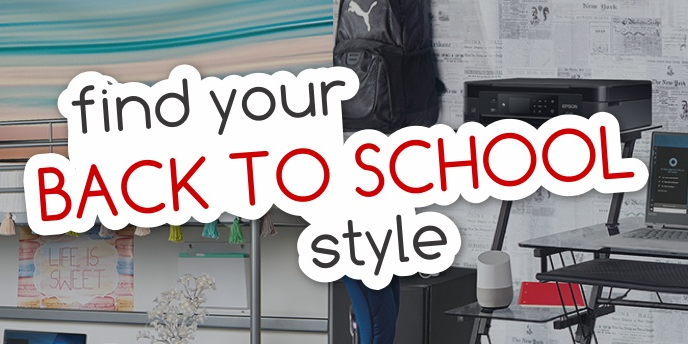 Find Your Back to School Style
