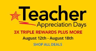 Teacher Appreciation Days With 3X Triple Rewards Plus More