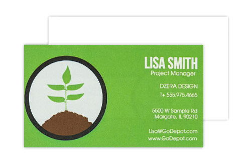 same day business cards - Business Card